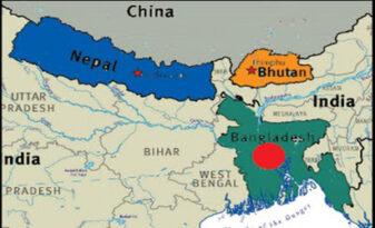 Bhutan-Nepal-Bangladeshroad