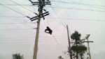 Electric line man