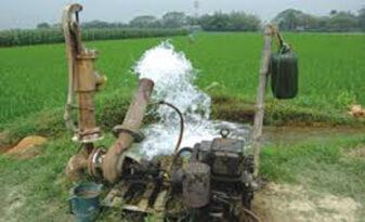irrigation fuel diesel