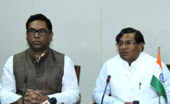 power minister nosrul hamid and manik day