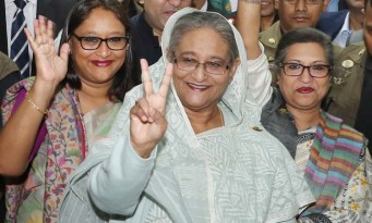 Massive victory for Sheikh Hasina-led grand alliance