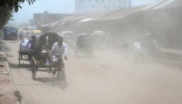 Dhala air polution