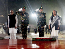 pm and president Amar Ekushey energy bangla